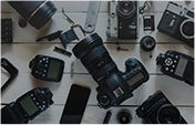 カメラ撮影機材